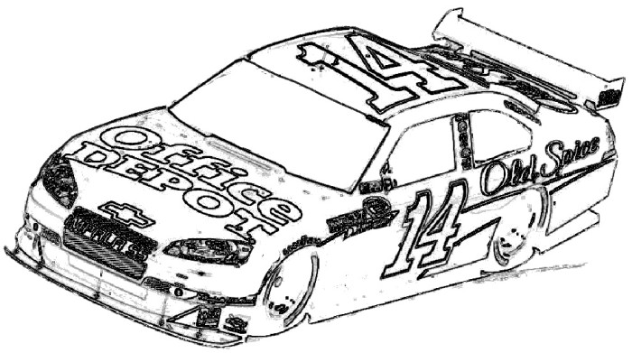 700x391 coloring page race car racing car coloring pages for kids - Race Cars Coloring Pages