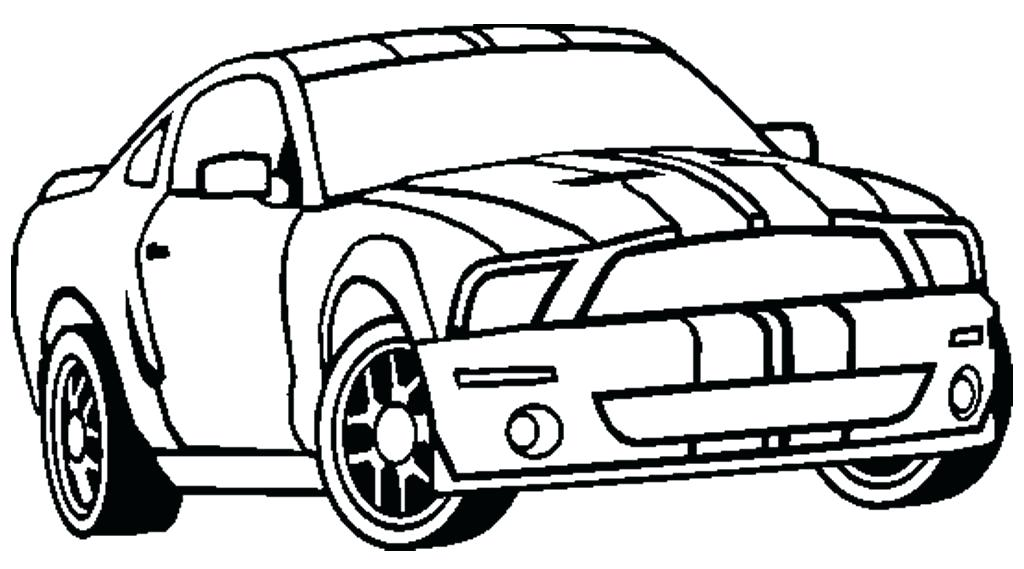 1024x569 Mustang Car Coloring Pages Mustang Coloring Pages For Kids Mustang