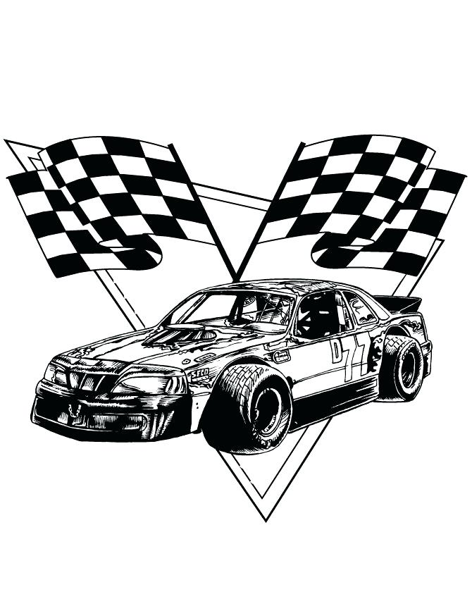 670x867 Race Car Color Pages Driving A Race Car Coloring Pages For Kids