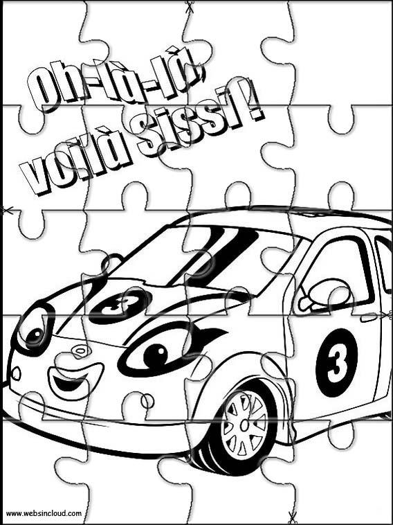 568x758 Roary The Racing Car Printable Jigsaw 2
