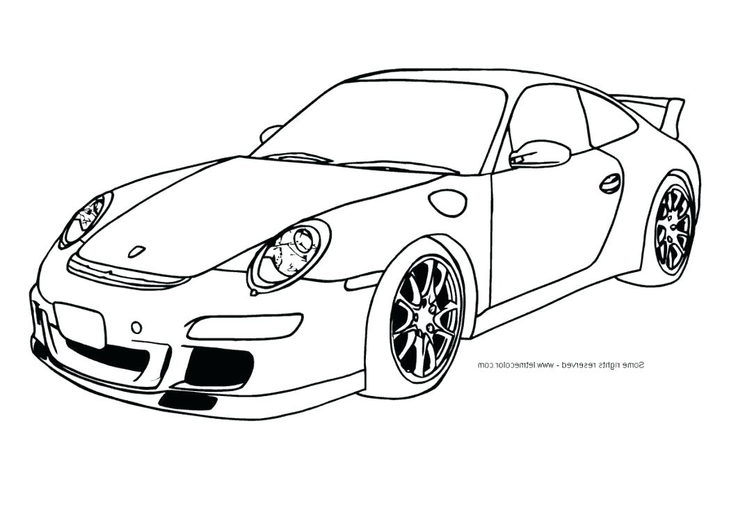 Racing Cars Drawing At Getdrawings Com