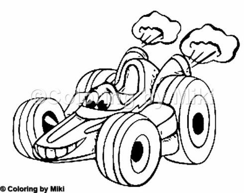 490x387 The Best Race Car Coloring Pages Ideas On Online