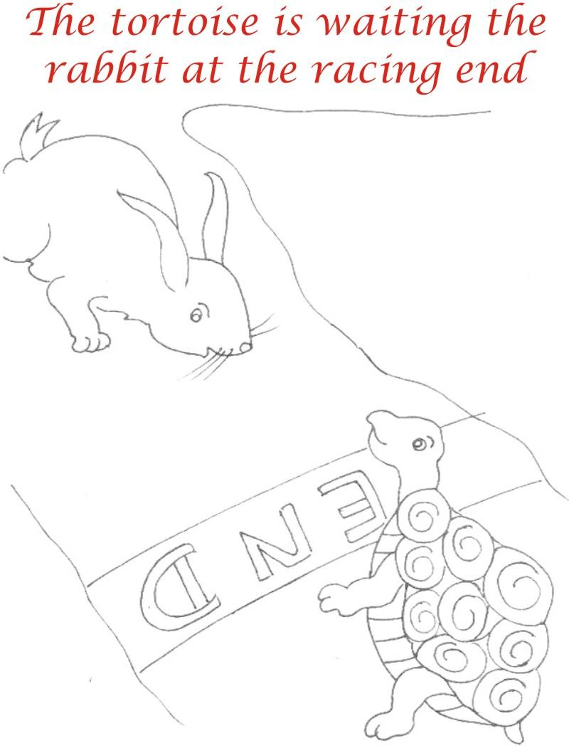 800x1051 The Racing Story Coloring Page For Kids 21