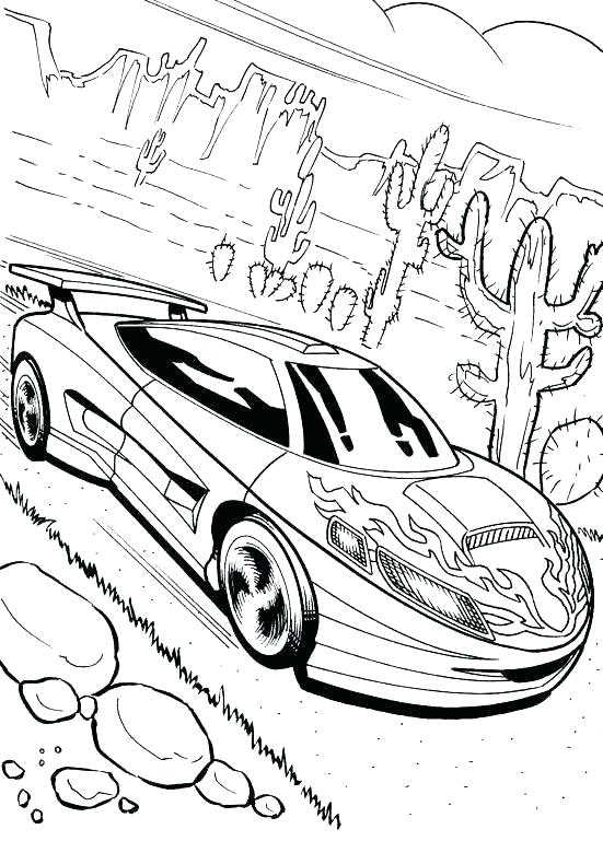 551x769 Beautiful Old Cars Coloring Pages New Car Printable Racing Here Is