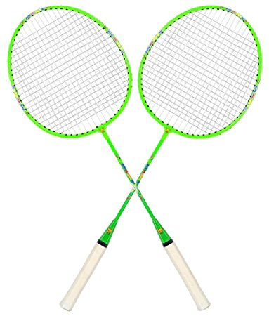 383x450 Buy Guru Magic Bs02 Pack Of Two Racket Badminton Set, Size 27 Inch