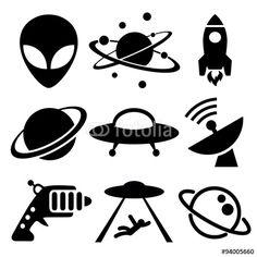 236x236 Universe Solar System, Telescope And Solar