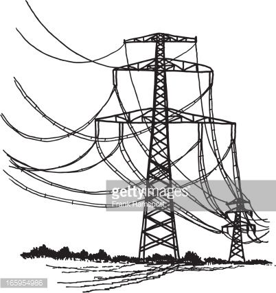 Radio Tower Drawing