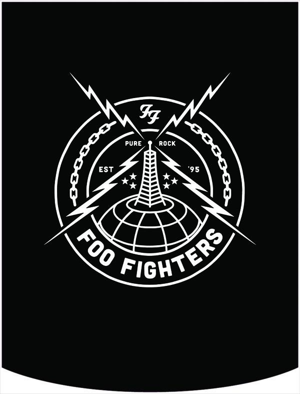 600x787 Foo Fighters Radio Tower Backpack With Interchangeable Face
