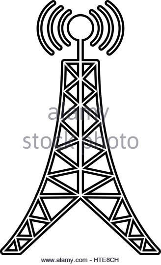 328x540 Radio Broadcast Tower Black And White Stock Photos Amp Images