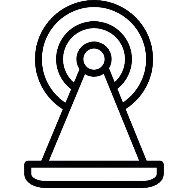 626x626 Tower Of Wireless Signal Transmission Icons Free Download