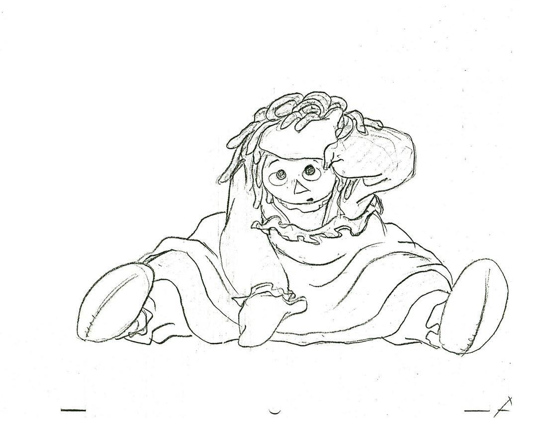 1100x850 Michael Sporn Animation Splog Raggedy Ann And Andy