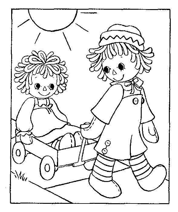 Raggedy Ann Drawing At GetDrawings Free Download