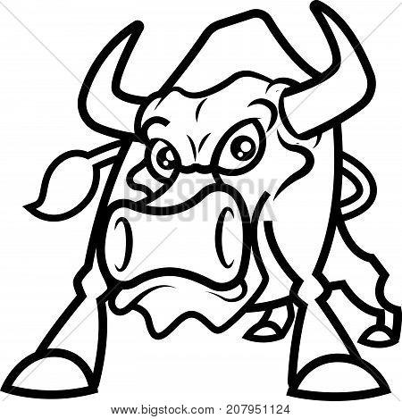 450x469 Raging Bull Images, Illustrations, Vectors