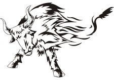 225x158 Bull Tattoo Ideas Best Bull Tattoos