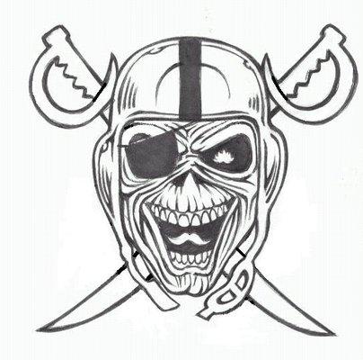 Raiders Logo Drawing