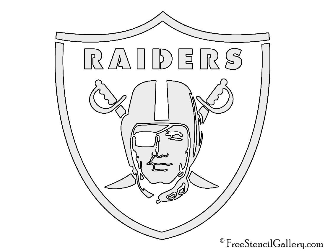 1100x850 Nfl Oakland Raiders Stencil Free Stencil Gallery