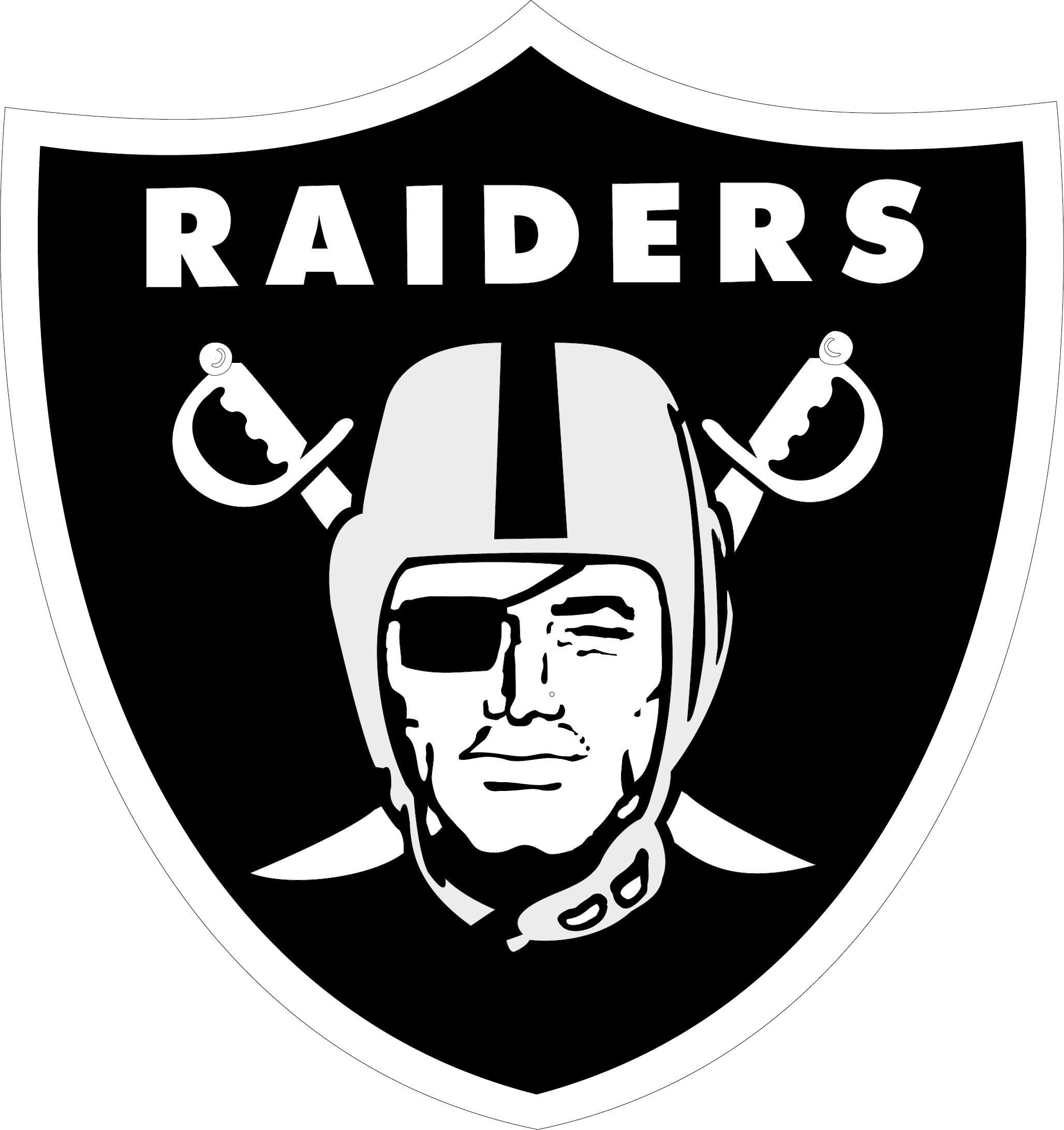 2056x2183 Oakland Raiders Logo Vector Eps Free Download, Logo, Icons, Clipart