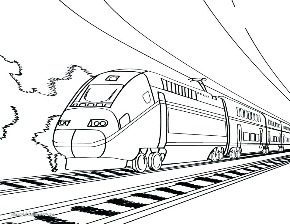 954x738 Lego Train Coloring Pages As Coloring Pages Trains Together