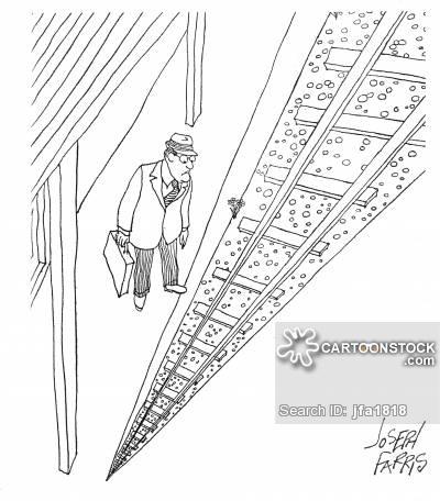 400x456 Railway Perspective Cartoons And Comics