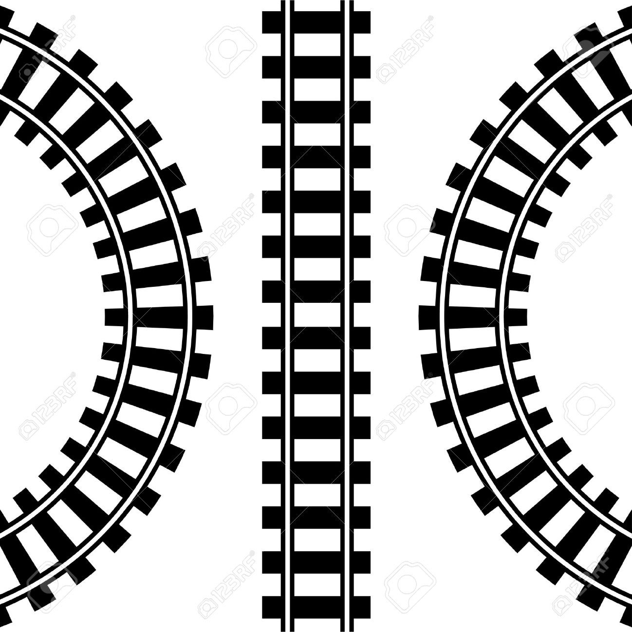 rail track drawing at getdrawings com free for personal use rail rh getdrawings com Railroad Tracks Illustration rail tracks clipart