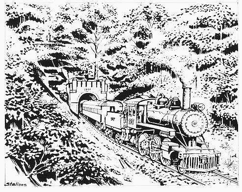 493x392 Our Hoosier State Beneath Us Historical Burton Tunnel One