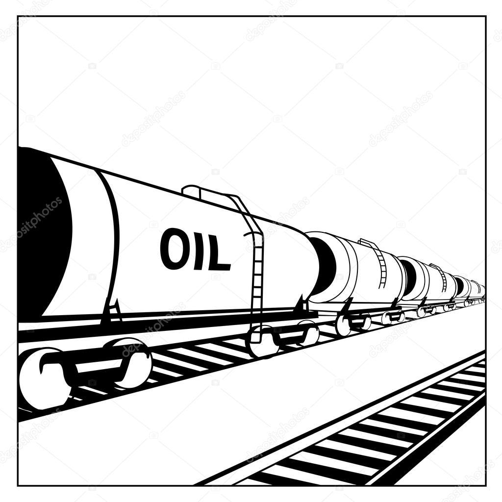1024x1024 Oil Tank Wagon Stock Vector Kotkoa