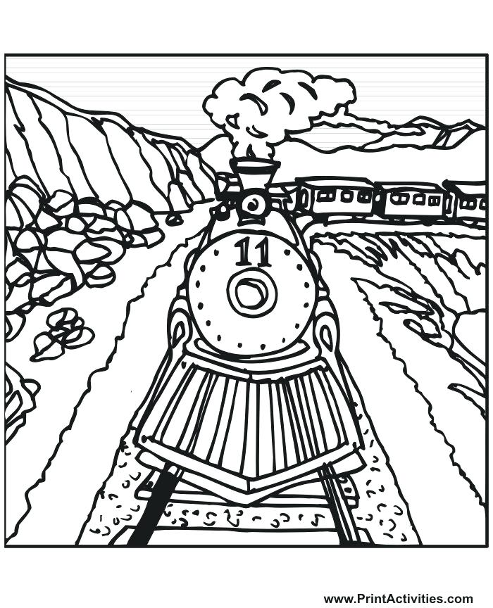Railroad Track Drawing at GetDrawings.com | Free for personal use ...