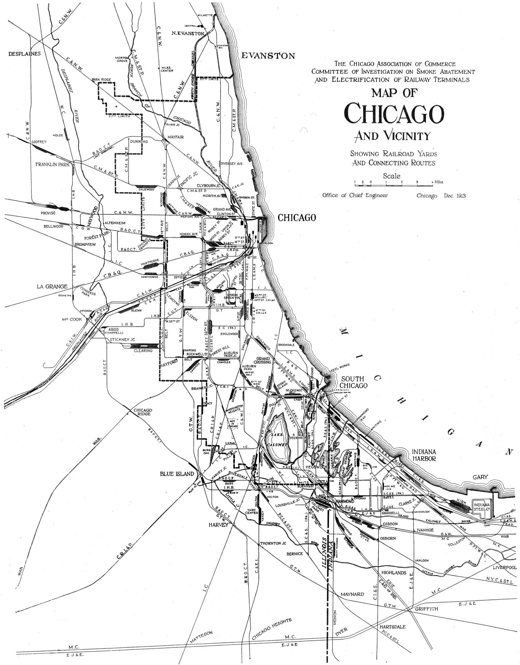 1672x2138 Railroads Encyclopedia Of Chicago Fact Of The Day Wendycity