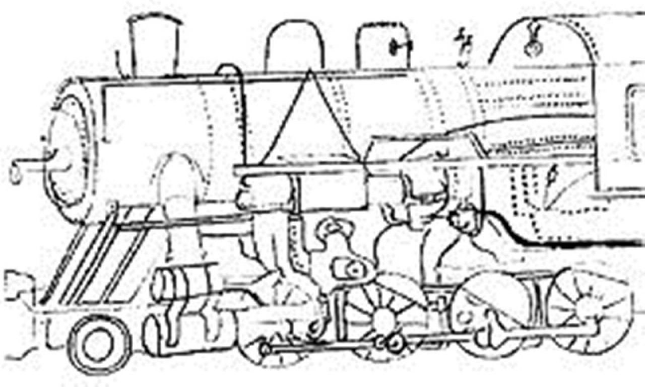 1280x768 The Best Drawn Railroad Kid Train Pencil And In Color For Steam