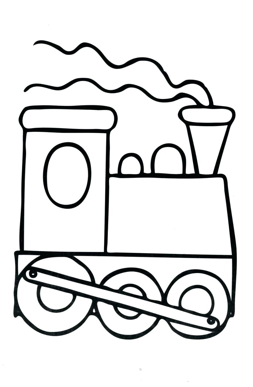 863x1318 Printable Train Track Printable Template Coloring Pages