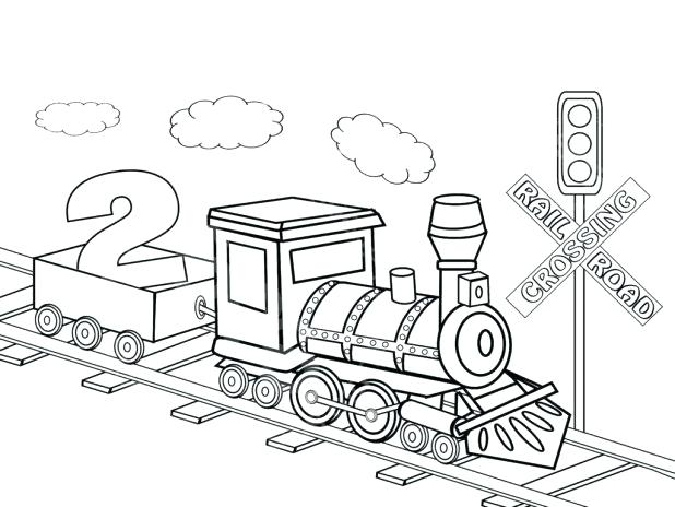 618x464 Coloring Pages Trains 31 And Train Color Elegant Dinosaur Train