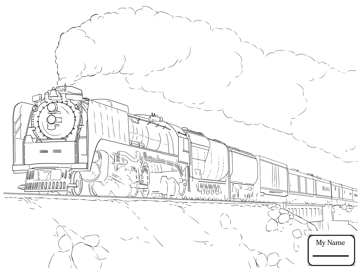 1224x918 Coloring Pages For Kids Transport Railway Road Trains