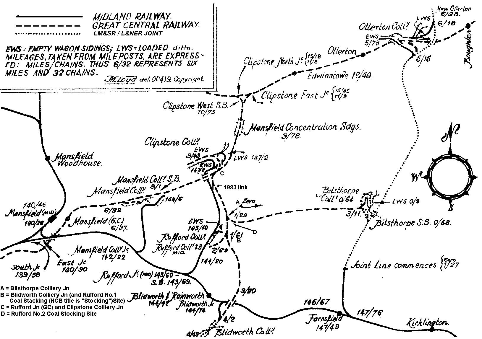 1630x1148 Rail Chronology East Of Mansfield