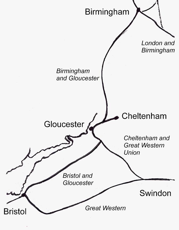 700x895 Birmingham And Bristol Railway