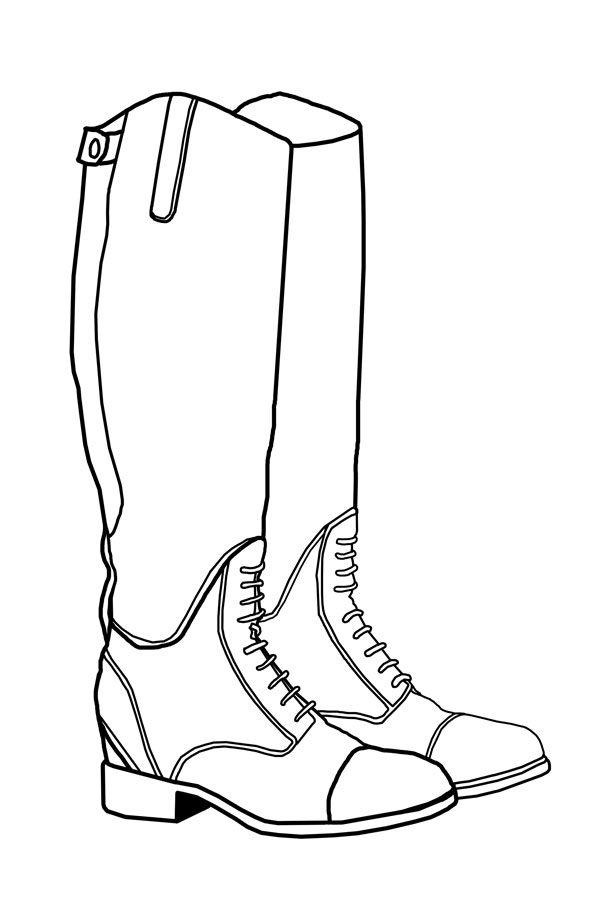 Rain boots drawing at getdrawings free for personal use rain 600x900 black and white year of the pig studio maxwellsz
