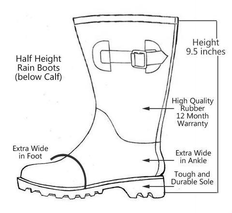480x440 Half Height Purple Rain Boots