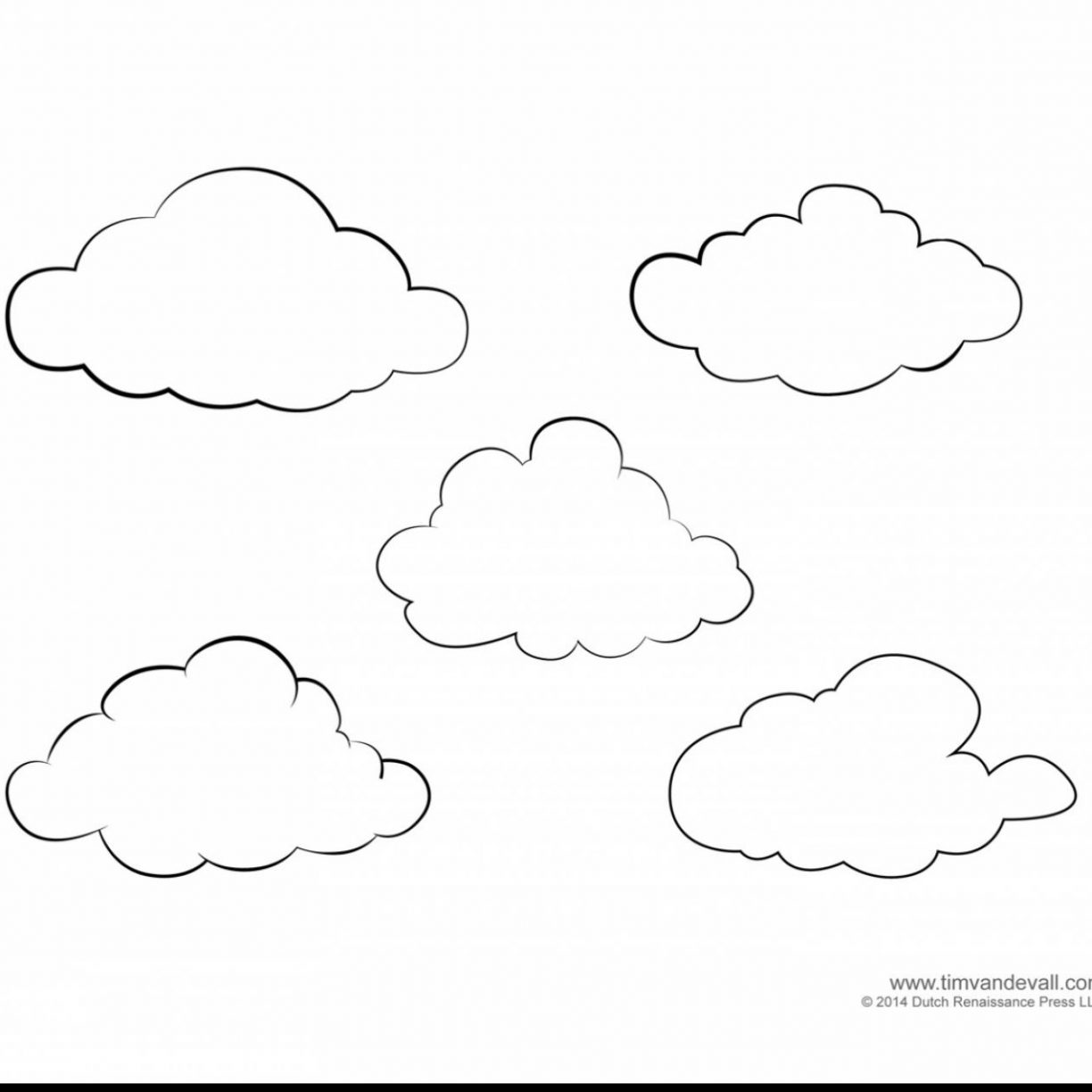 This is a photo of Dynamite Rain Cloud Coloring Page