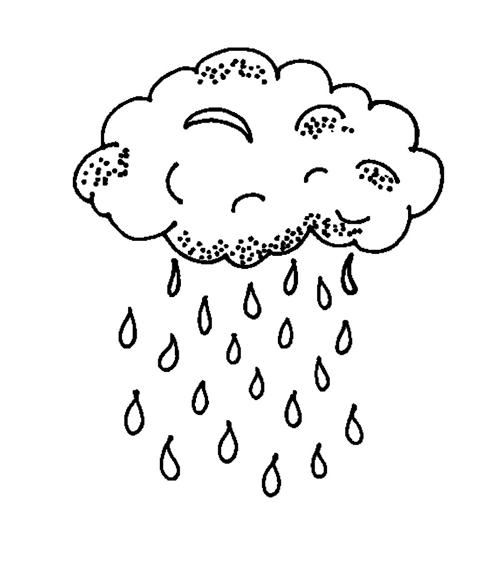 995x1140 Printable Cloud Coloring Pages Me