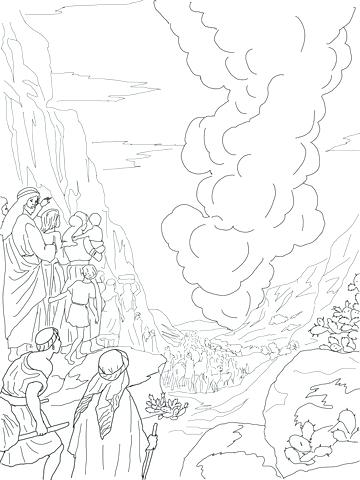 360x480 Cloud Coloring Pages Also Angry Cloud And Lighting Bolt Coloring