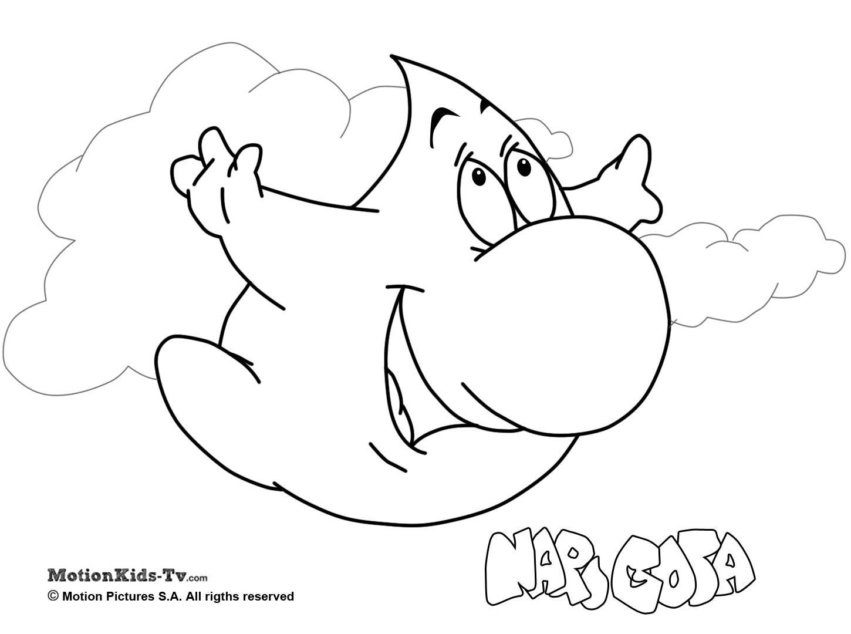 1450x1080 Pintas Narigota, Descargar Dibujos Colorear Dibujos Animados