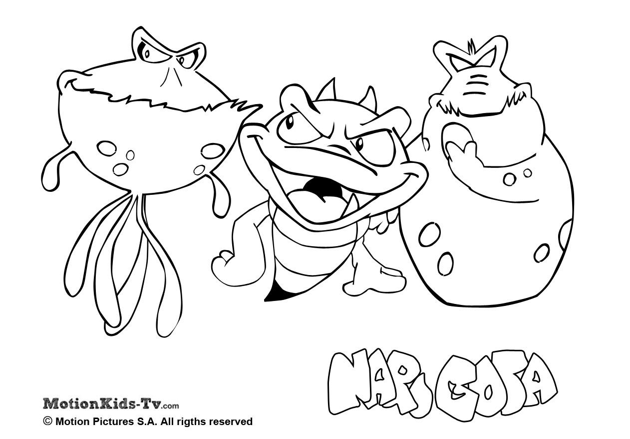1262x881 Pintas Narigota, Las Bacterias, Descargar Dibujos Colorear Dibujos