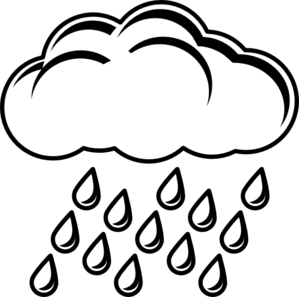 299x297 Rain Cloud Coloring Pages To Pretty Draw