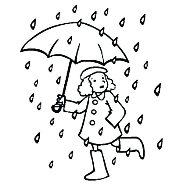 600x614 Raindrop Coloring Pages Ideas Drippy The Raindrop Coloring Pages