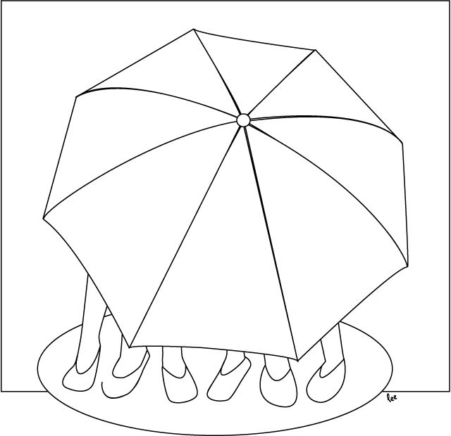 640x620 The Best Umbrella Coloring Page Ideas On Umbrella