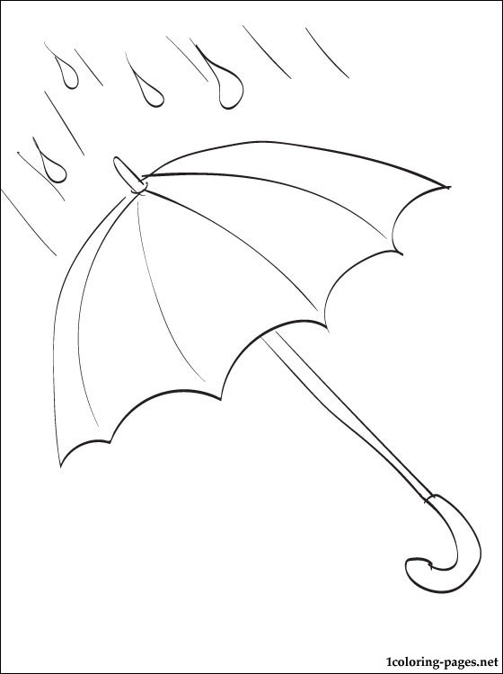 Rain Umbrella Drawing at GetDrawingscom Free for personal use