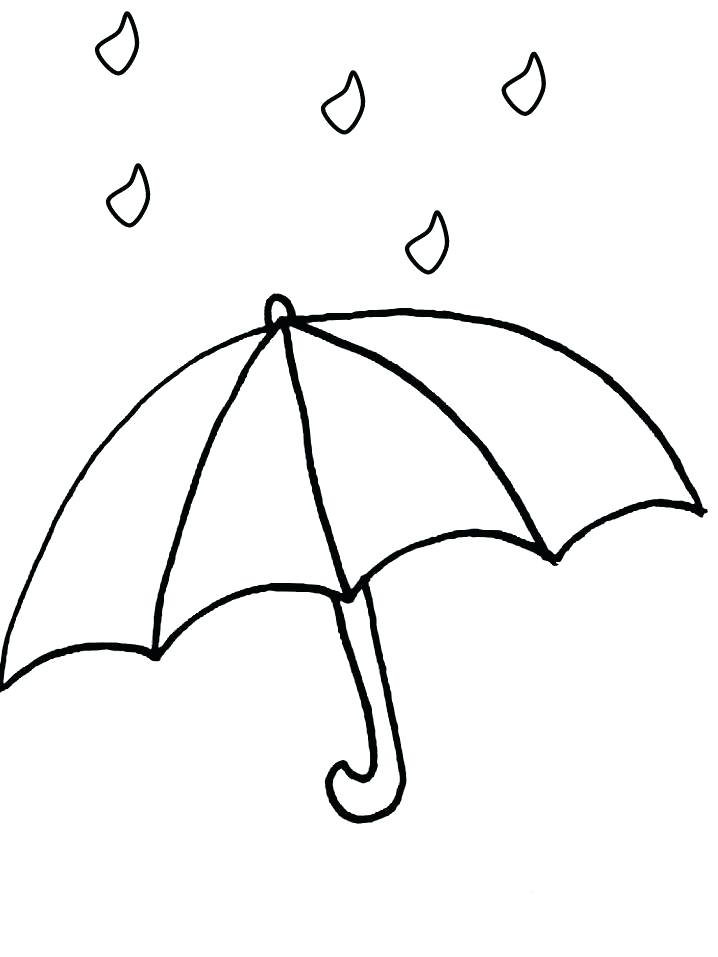 718x957 Coloring Umbrella Umbrella Colouring Page 8 Coloring Pages