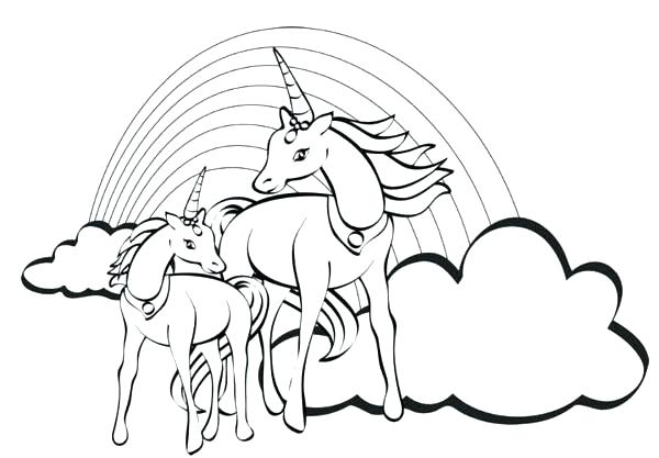 600x417 Coloring Page Of A Rainbow Rainbow Magic Fairy Coloring Pages