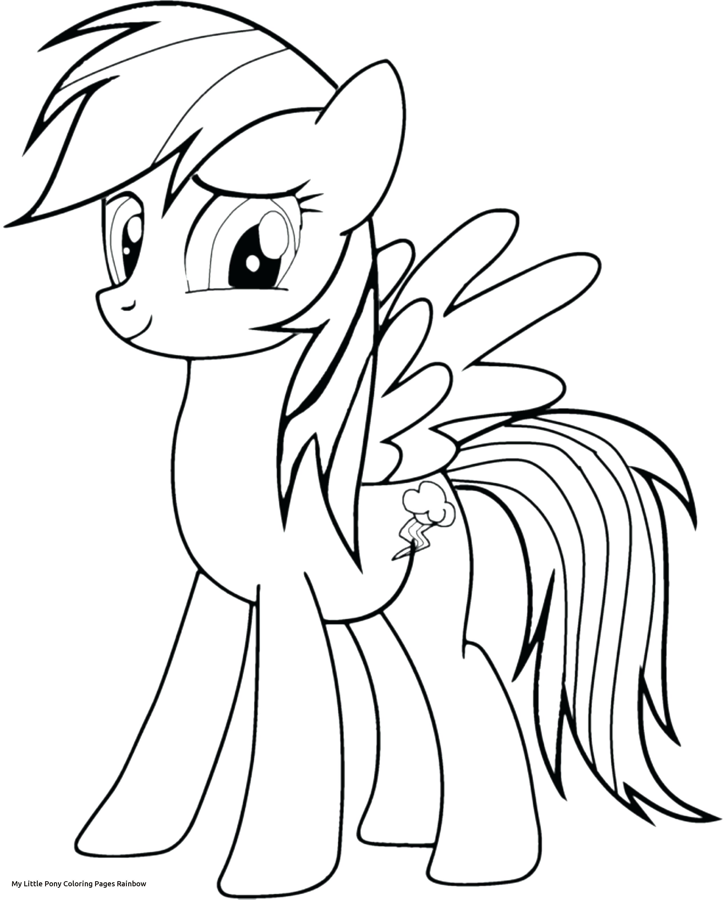 Rainbow Dash Drawing At Getdrawings Com Free For Personal Use