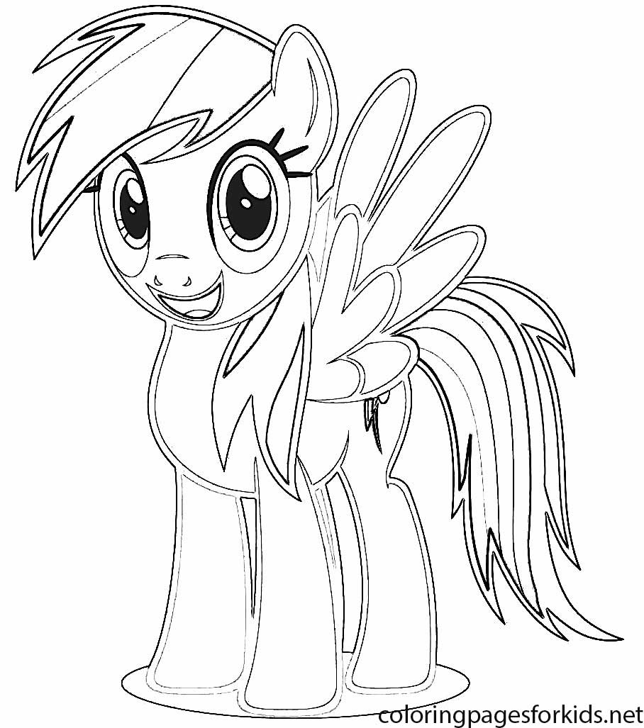 908x1027 Coloring Pages For Girls U2013 My Little Pony Rainbow Dash U2013 Color Bros