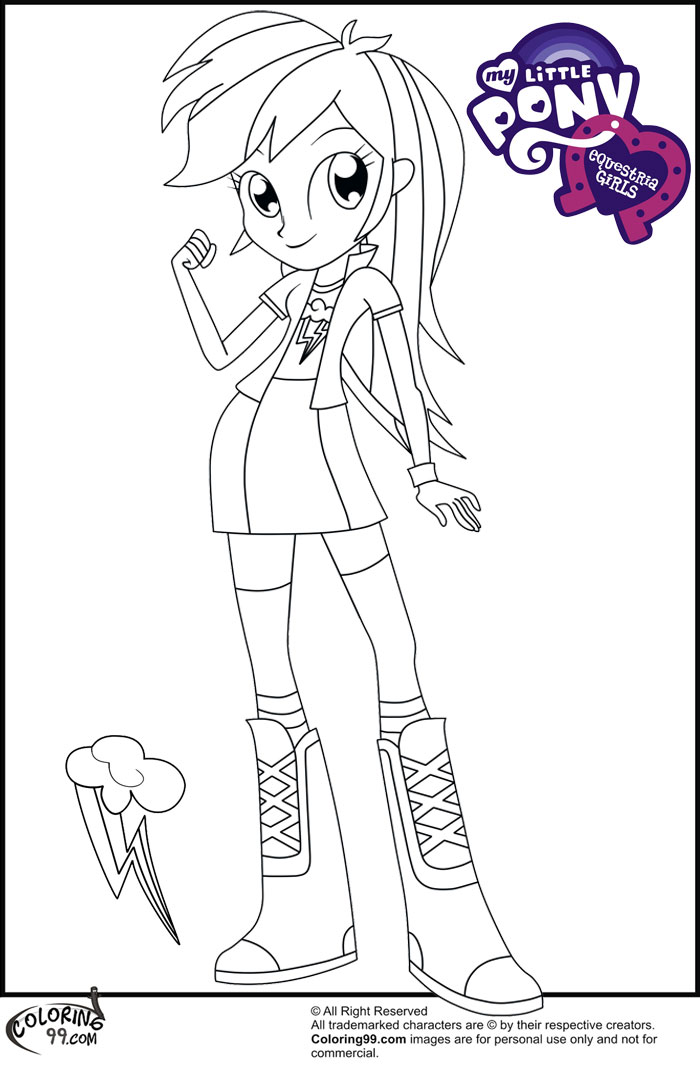 700x1071 Fans Request Rainbow Dash Equestria Girl Coloring Pages Team